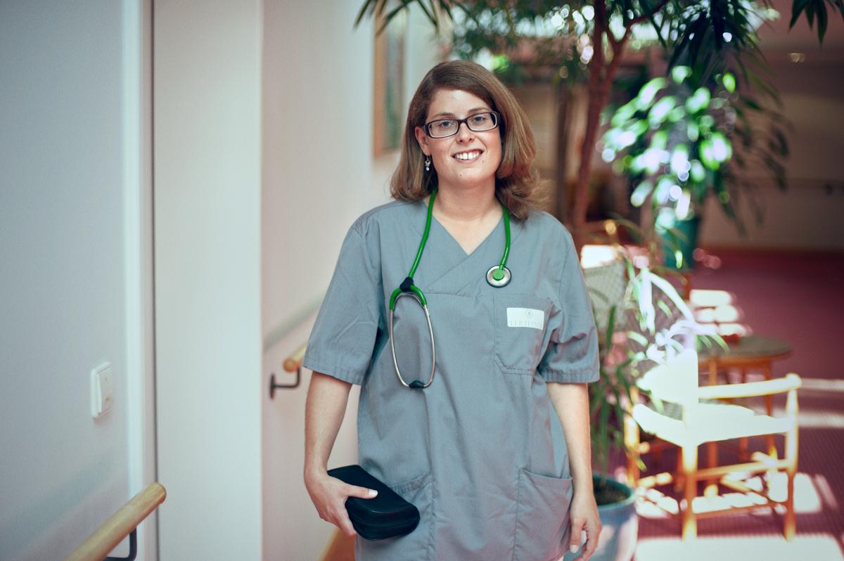 Berufsbild ambulanten Pflege: Daniela Berenbold arbeitet als Pflegefachkraft bei Tertianum Care