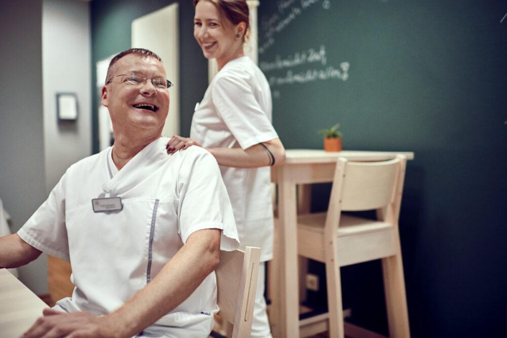Im Interview: Fred Lüttmann, Pflegefachkraft