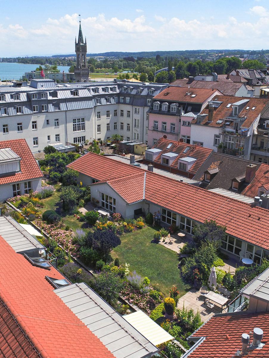 Luftaufnahme von Tertianum Suites in Konstanz