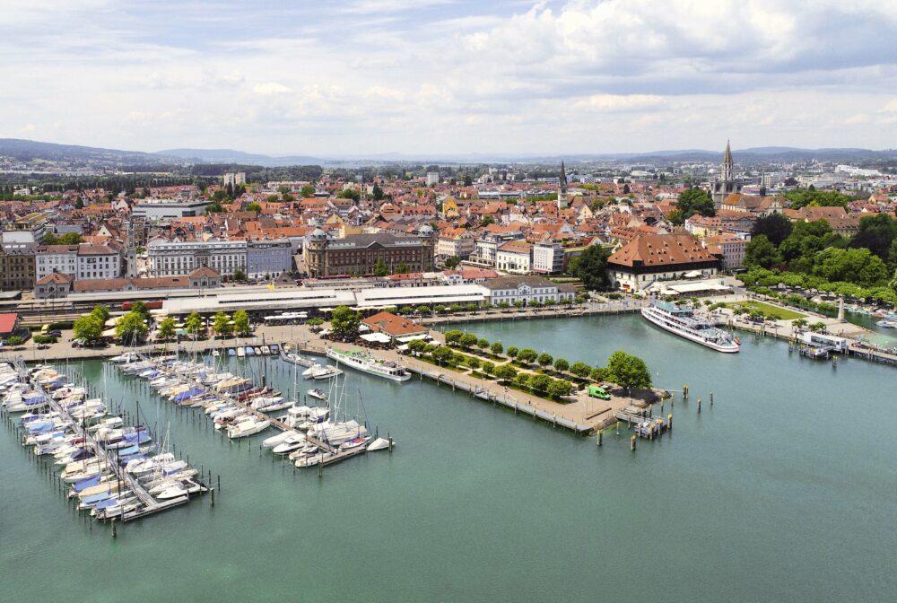 Auf dem Wasserweg von Konstanz bis Friedrichshafen und zurück