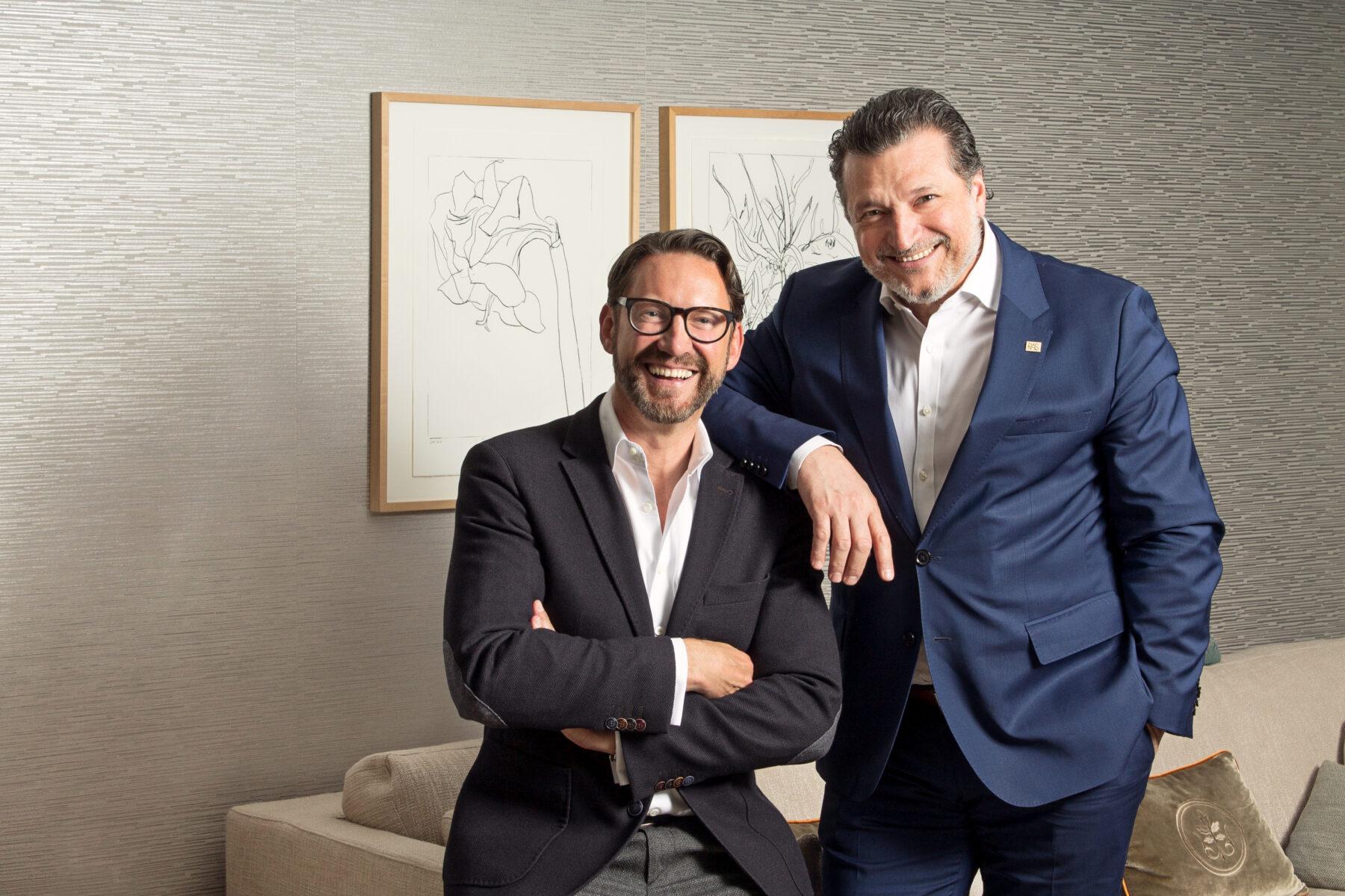 Tertianum Inhaber Felix von Braun mit RAS Geschäftsführer Raffaele Sorrentino